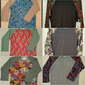 Lot of 6 Lularoe Randys, Size S